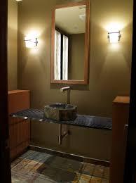 White Wood Bathroom Vanity Reclaimed Wood Floating Bathroom Vanity Dark Brown Finish