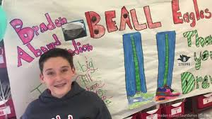 13 year old gets 25k for his bar mitzvah uses it to shoes for 800 kids abc7ny