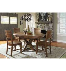 66 inch canyon oval pedestal dining table for idea purposes only