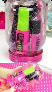 and simple bedroom craft projects for teen girls diy glitter globe by diy ready