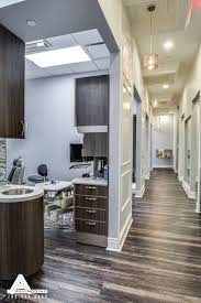 dental office design ideas. Plain Dental Brilliant Dental Office Design Ideas In Interior Paneled Hallways And  Organic Light Fixtures Sky Grey Walls On