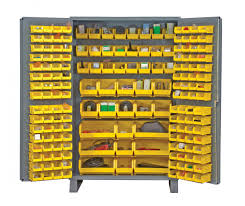 metal storage cabinet yellow. Metal Cabinet With Storage Bins Yellow