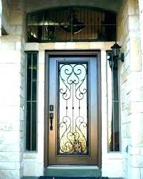iron and glass front doors metal and glass front doors iron and glass front doors wrought