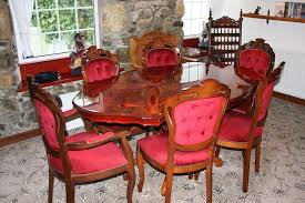 italian wood furniture. Italian Wood Dining Table And 6 Chairs Furniture L