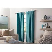 allen + roth Burgett 84-in Mineral Velvet Back Tab Light Filtering Single  Curtain Panel