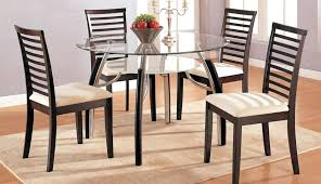 dining table with chair miles round