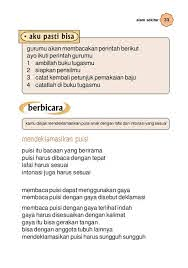 Soal latihan bahasa indonesia siswa bisa memperkenalkan diri sendiri dengan menggunakan kalimat sederhana dan bahasa yang. Bacaan Anak Sd Kelas 1 Guru Ilmu Sosial