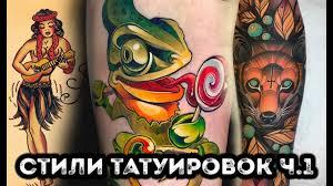 история татуировки олд скул