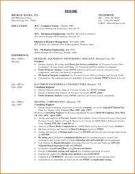 Engineer Resume Format Engineer Resume Cover Letter