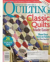 American Patchwork & Quilting, February 2009 (Better Homes ... & American Patchwork & Quilting, February 2009 (Better Homes & Gardens  Creative Collection, Volume 17, Number 1, Issue Number 96): Jennifer Elbe  Keltner: ... Adamdwight.com
