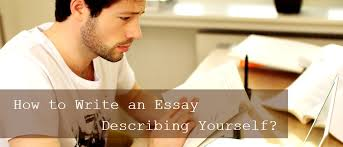 write an essay describing yourself