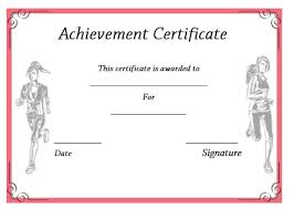 19 Athletic Certificate Templates For Schools Clubs Free