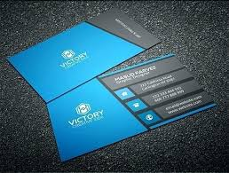 Free Professional Business Card Templates Luxury Abstract