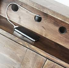 bedside table with charging station. Exellent With Throughout Bedside Table With Charging Station