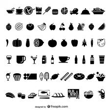 ベクトル材料の食べ物や飲み物の要素の様々なスケッチ要素 ベクター画像