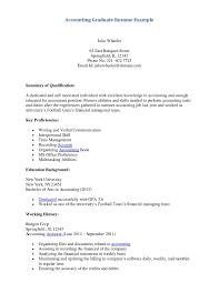 Resume Template Accountant 100 Sample Resume For Internship In