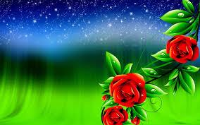 Rose Flower Images 3D (Page 1) - Line ...