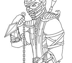 Small Picture Mortal Kombat Coloring Pages Coloring Pages Ideas Reviews