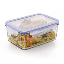 glasslock rectangular food container large
