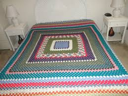 Crochet Queen Size Blanket Pattern
