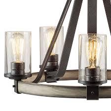 Kichler Lighting Barrington Anvil Iron And Driftwood Shop Kichler Lighting Barrington 5 Light Anvil Iron And