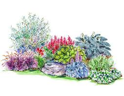 flower garden plans fresh by ftd rh ftd com shade shrubs zone 5 partial shade plants zone 5