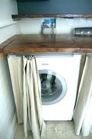 washer dryer under counter over