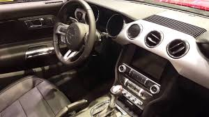 ford mustang convertible interior. Perfect Convertible 2016 Ford Mustang GT Convertible Interior Chicago Auto Show  YouTube Inside C