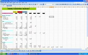 examples of personal budgets sample excel budgets expin zigy co