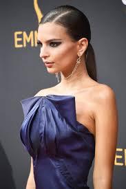 emily ratajkowski y eye makeup hair makeup hair designs blue dresses