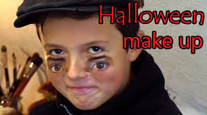 eyes makeup dad teams up with son for a scary face painting prank