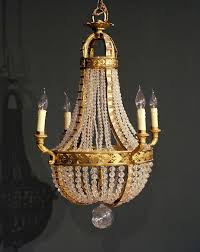 french chandelier c 1910