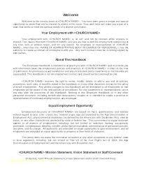Company Policy Manual Template Handbook Free Employee Here Sample