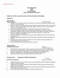 Electrician Resume Sample Lovely Sample Pharmaceutical Sales Resume