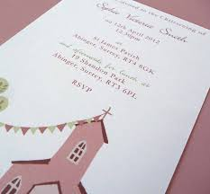 moo invitations personalised christening or baptism invitations by molly moo designs