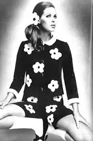 1960s Fashion Designers 1960s Fashion Had Many Flower Patterns Because It Was The