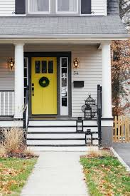 two simple steps to an emptier mailbox yellow front doorsbright