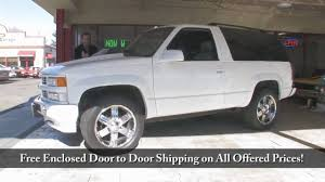 1995 Tahoe 4X4 for sale with test drive, driving sounds, and walk ...