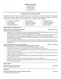 Military Resume Samples Examples Writers Transition To Civilian