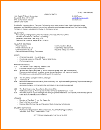 Entry Level Electrical Engineer Resume Engineering Cover Letter In