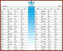 Adidas Shoe Size Chart Junior Adidas Energy Boost Sizing Chart Ageless Adidas Ultra Boost