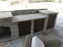 Outdoor Kitchen Fireplace Outdoor Living Space With Kitchen Patio Fireplace Outdoor Patio