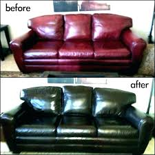 dye transfer white leather sofa couch remove from paint furniture how to a bonded exciting spray
