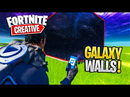 How To Get The GALAXY Background In Fortnite <b>CREATIVE</b> ...