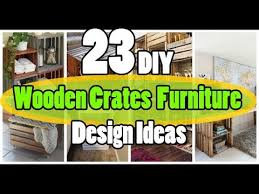 wooden crate furniture. 23 DIY Wooden Crates Furniture Design Ideas Crate