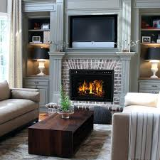 ventless electric fireplace indoor fireplaces see through ventless electric fireplace vent free electric fireplace insert
