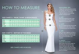 La Femme Prom Dresses Size Chart La Femme Prom Dress Style 26278