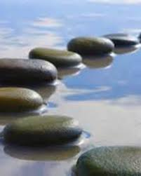 Image result for stepping stones in water