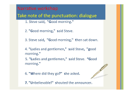 how to punctuate poems
