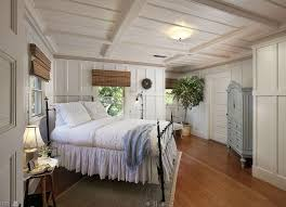 Cottage Bed On Angle In Corner of Room